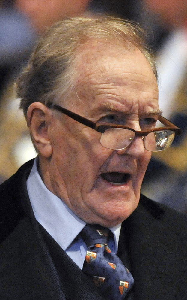 "Robert Hardy, the veteran British actor who played Minister for Magic Cornelius Fudge in the ""Harry Potter"" movies, has died at 91."