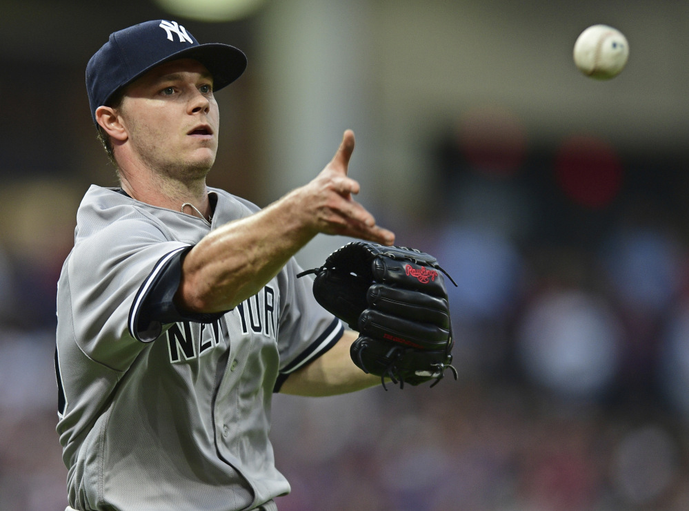 Sonny Gray made his first start for the Yankees on Thursday night, but was beaten by Corey Kluber and the Indians, 5-1.