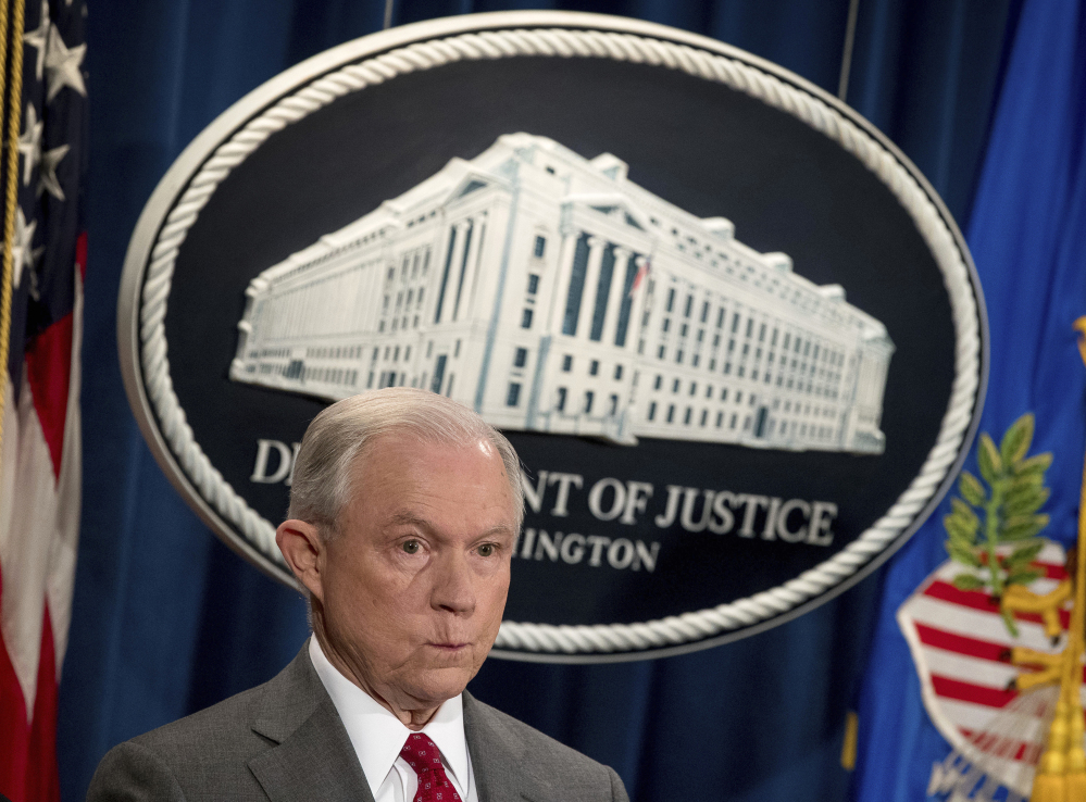 Attorney General Jeff Sessions, who has compared marijuana to heroin, has been promising to reconsider existing marijuana policy since he took office.