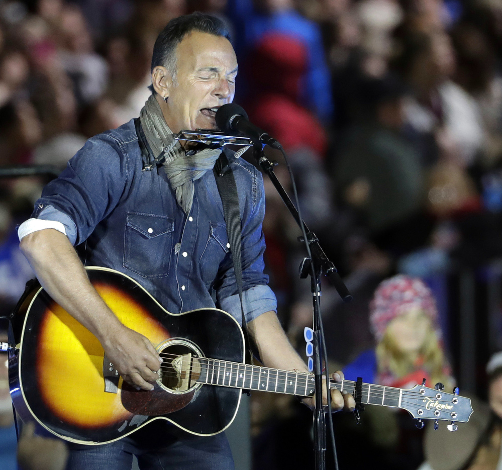 "Bruce's ""Springsteen on Broadway"" begins previews Oct. 3 and opens Oct. 12 for an eight-week run at the intimate Walter Kerr Theatre."