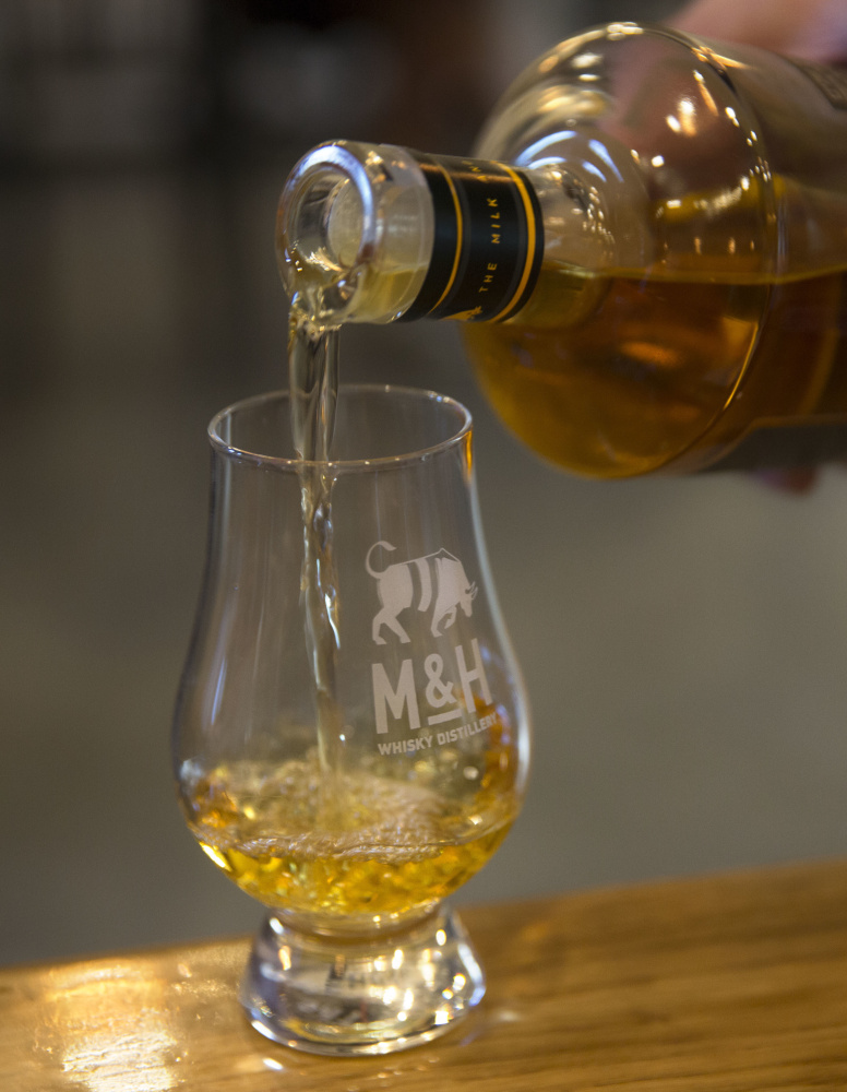 "The Milk & Honey Distillery in Israel is releasing a single malt whiskey. ""We don't work on Saturday, we don't work on Yom Kippur or Passover,"" said the distillery's CEO, Eitan Attir."