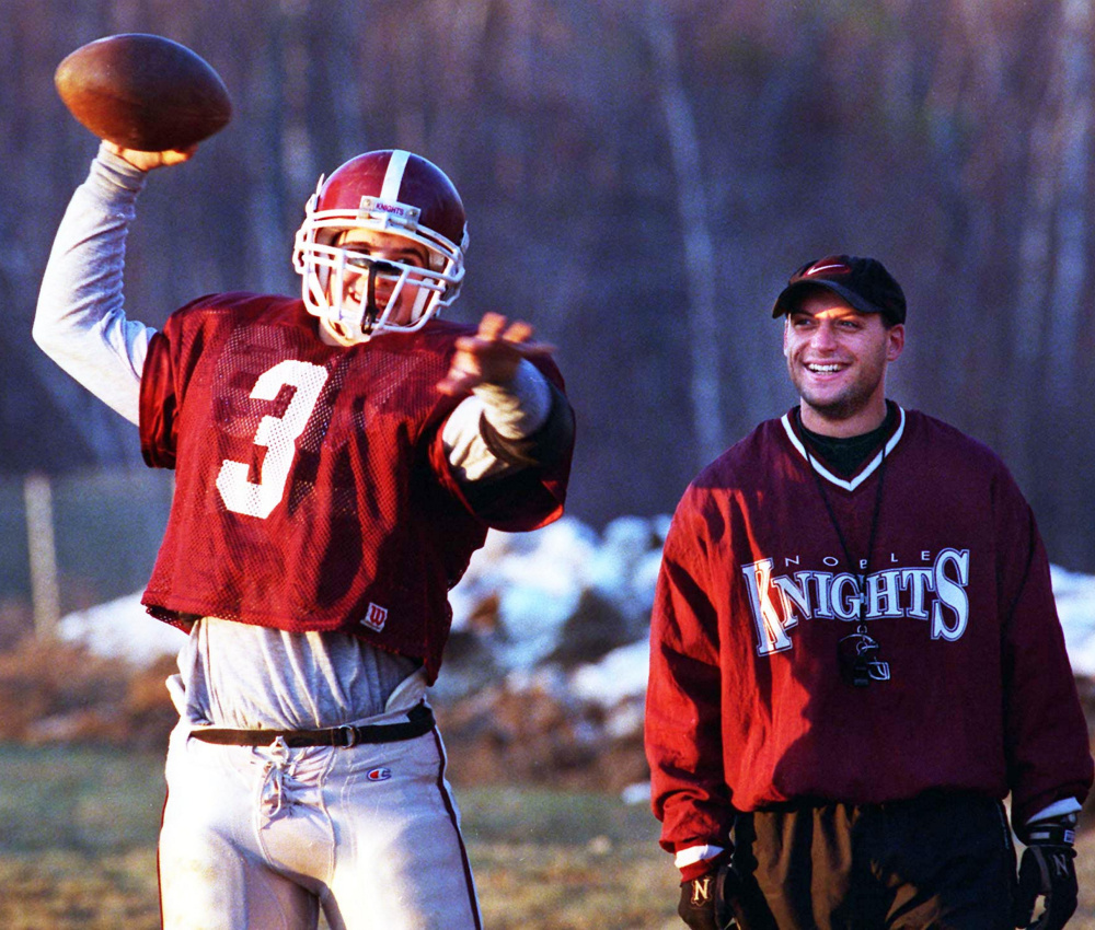 It's not possible that 20 years have passed since quarterback Randy Ouellette and Coach John Suttie ignored late-season snow, and guided Noble past the Biddefords and South Portlands to the top of the state in Class A football.