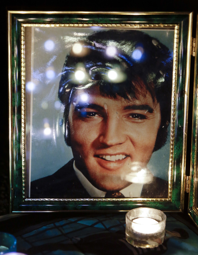 "The ""Burning Love"" of the late Elvis Presley's fans again will seem like an eternal flame this week at Graceland, where The King lived and was buried 40 years ago."