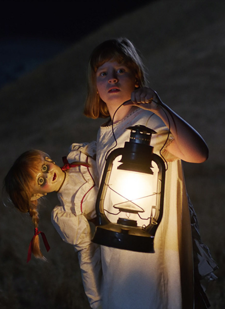 "Lulu Wilson stars in ""Annabelle: Creation."""