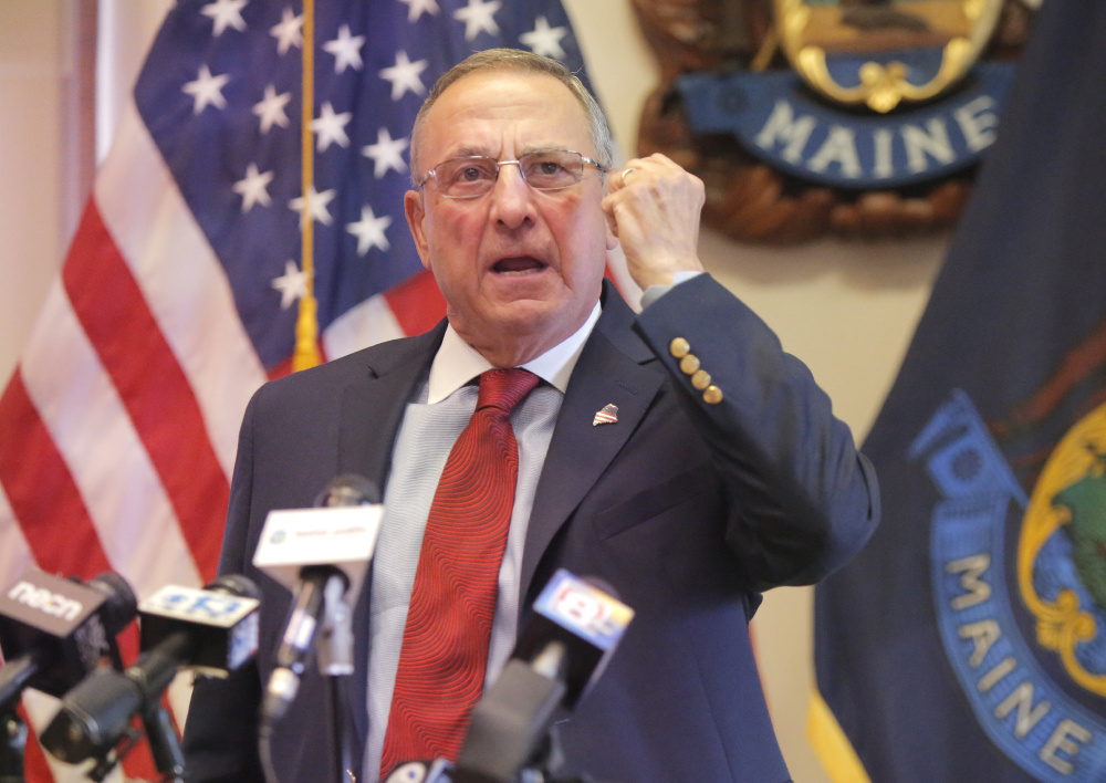 The white supremacist violence that erupted in Virginia on Saturday is that state's problem, Gov. LePage said Tuesday, in a statement that gravely downplayed the extent of racism in Maine.