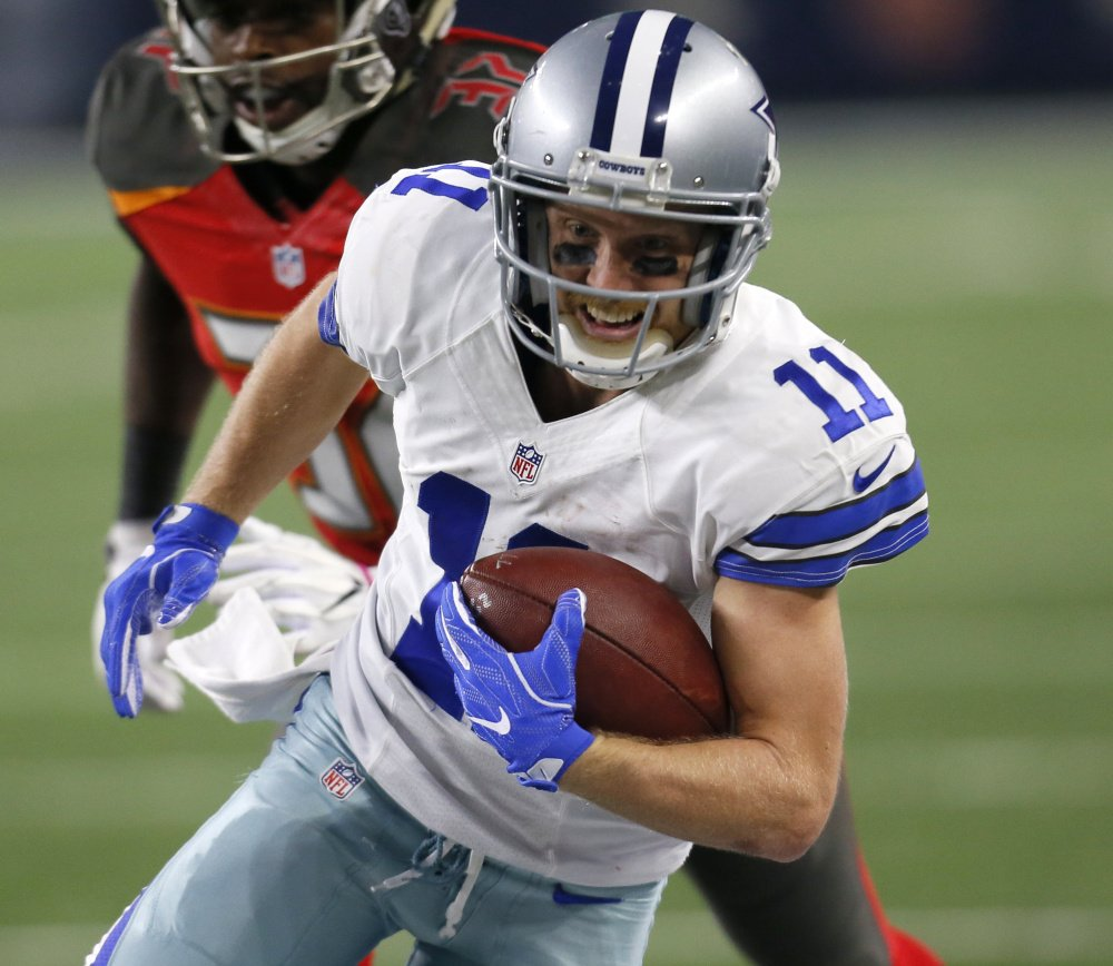 Cowboys wide receiver Cole Beasley asks to be viewed simply as a receiver, not a slot receiver, if he becomes a free agent in two seasons.