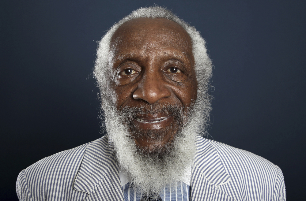 Dick Gregory's commentary on racial injustice was biting, but it was funny, and his humor began to win over white audiences in the '60s.
