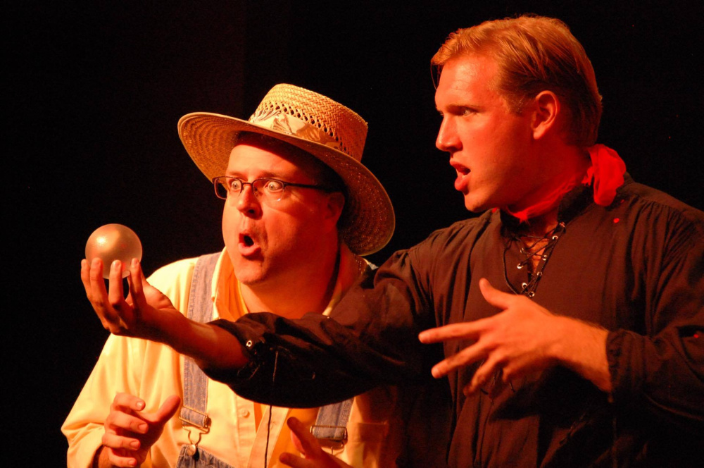 "A scene from ""The Fantasticks,"" playing through Sept. 2."