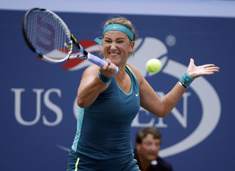Victoria Azarenka, a two-time runner-up at the U.S. Open, won't play in this year's tournament because of an ongoing child custody dispute.