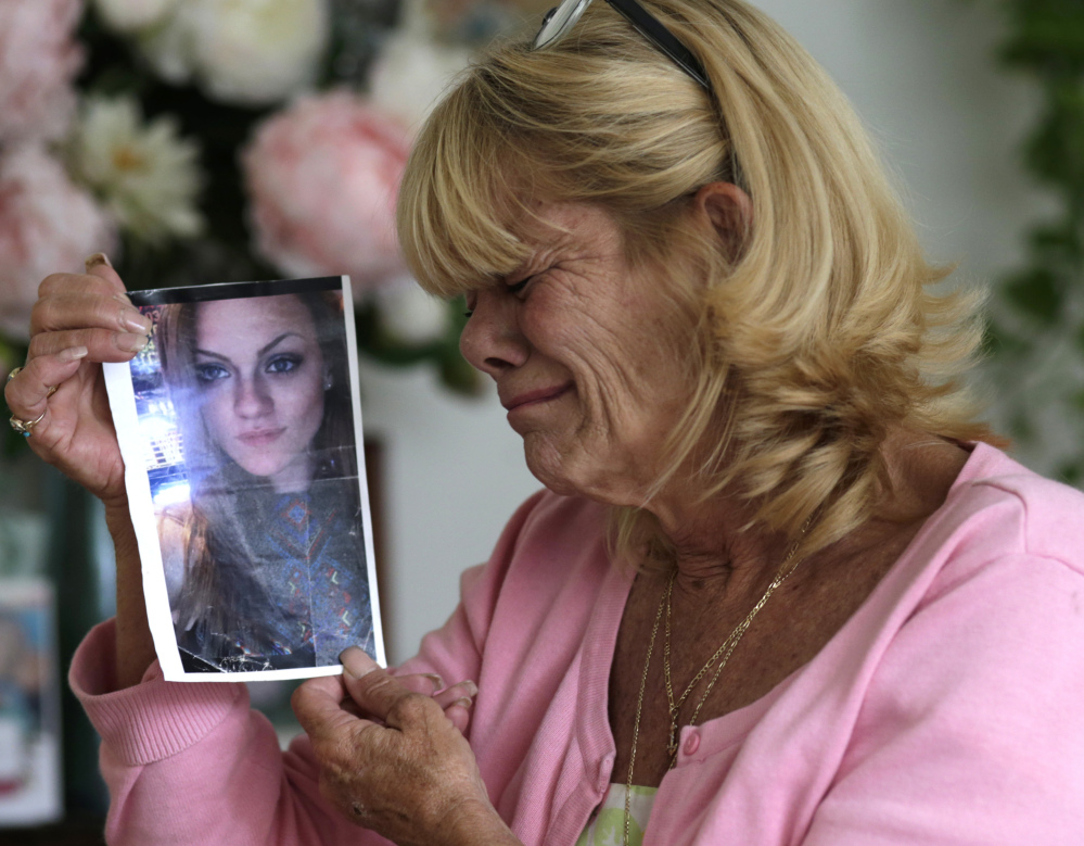 Associated Press/Lynne Sladky Michelle Holley's daughter, Jaime, died of an overdose after being refused prescribed withdrawal meds by the Reflections treatment center in Florida when she left.