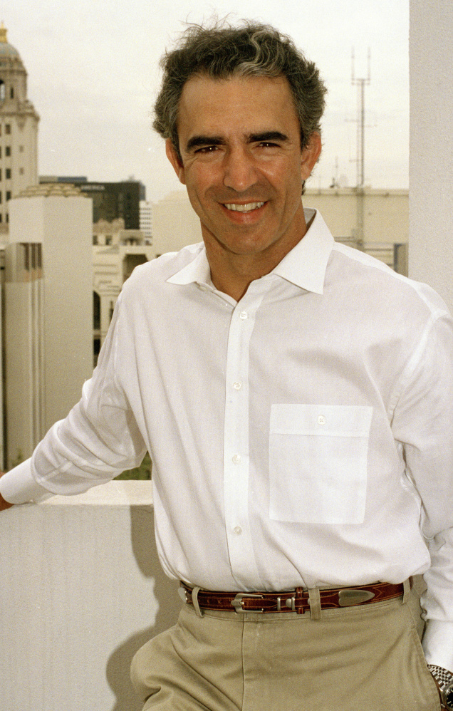 Film and television actor and radio host Jay Thomas, shown in 1992, died Thursday at his home in Santa Barbara. He was 69.