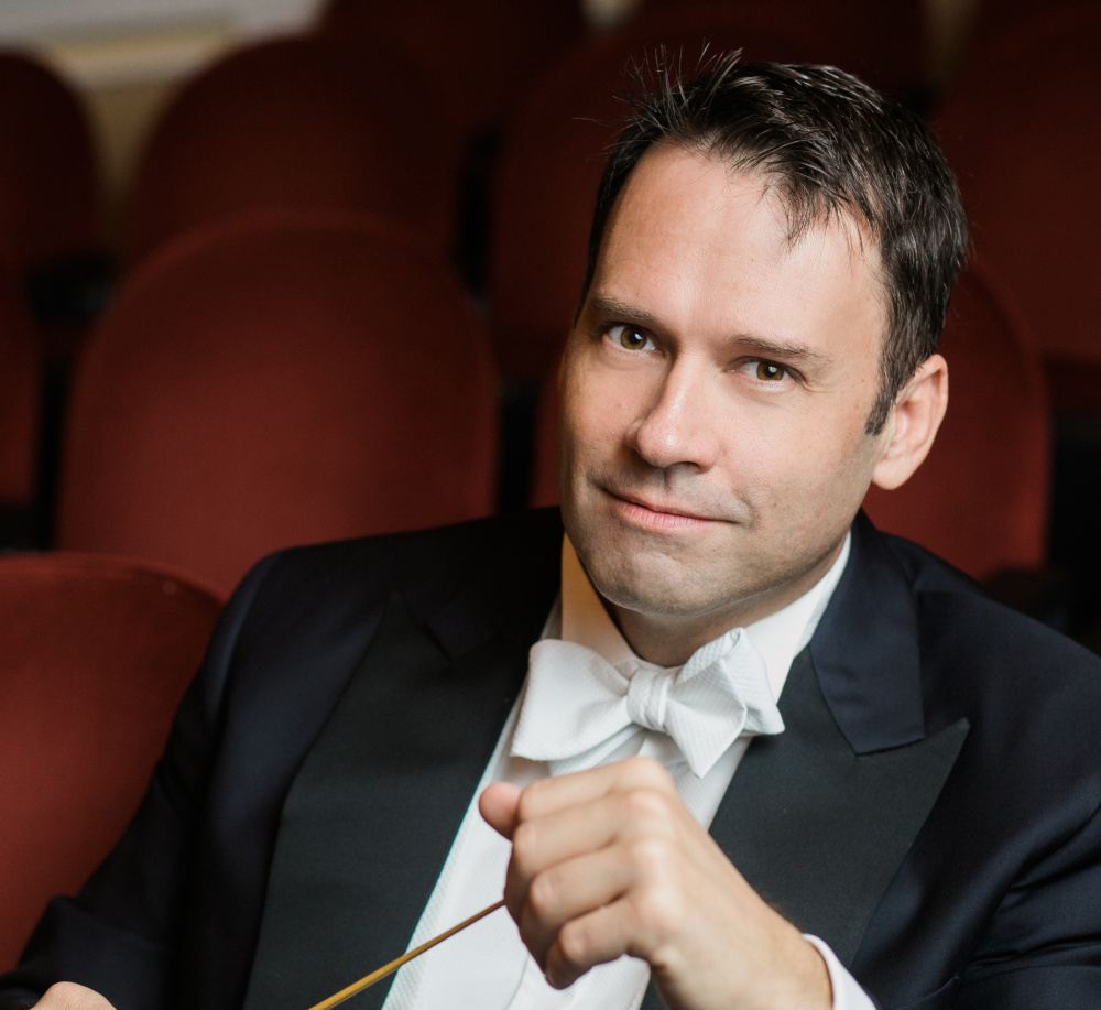 Robert Moody concludes his run as music director of the Portland Symphony on May 1.