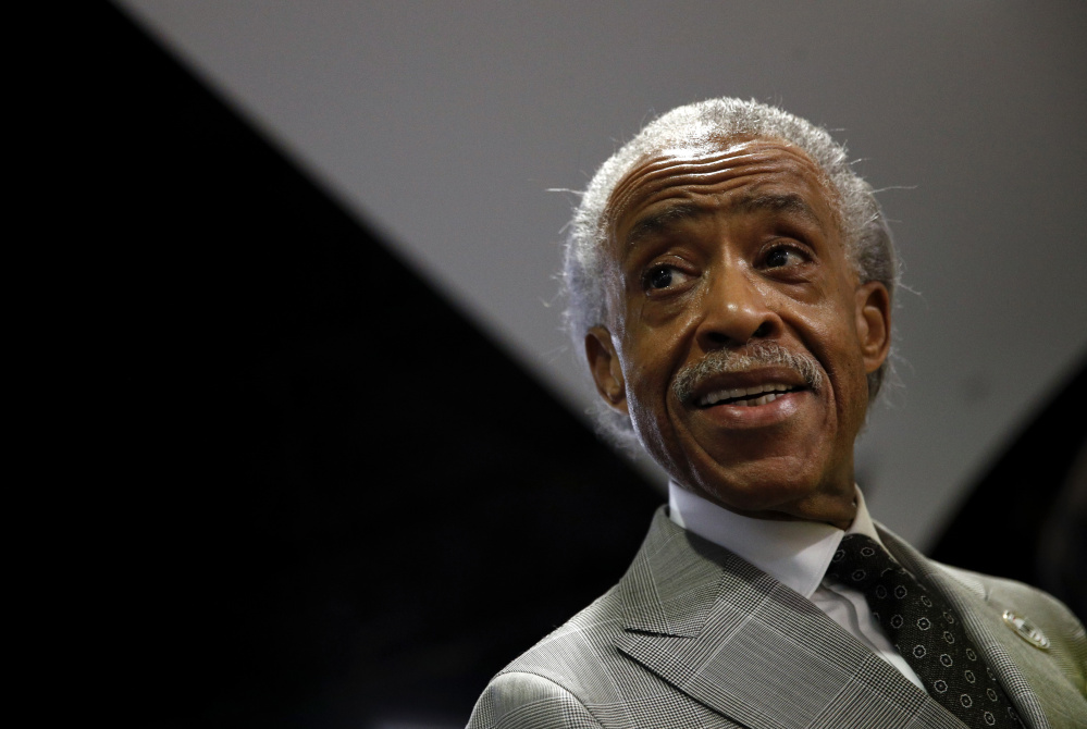 "In organizing his multifaith rally in Washington, the Rev. Al Sharpton says, ""This is the time to make a moral statement."" Associated Press/Patrick Semansky"