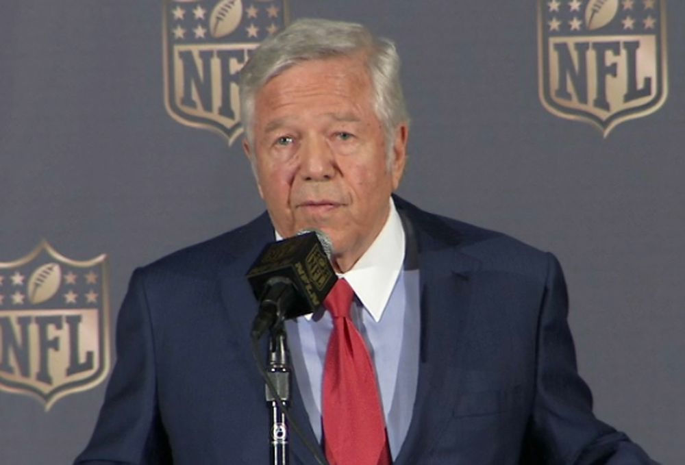 New England Patriots owner Robert Kraft and his family are matching donations to the American Red Cross, up to $1 million, for Hurricane Harvey relief efforts.