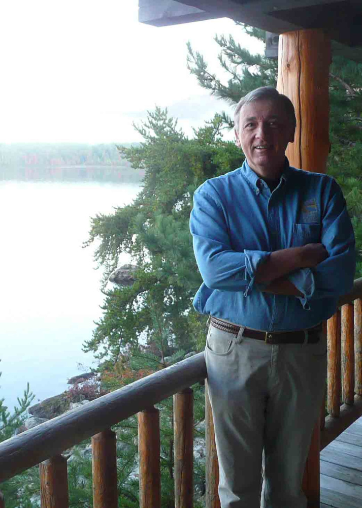 The longtime executive director of the Forest Society of Maine, Alan Hutchinson played a role in conserving more than 1 million acres in Maine. He died Sunday at age 70.