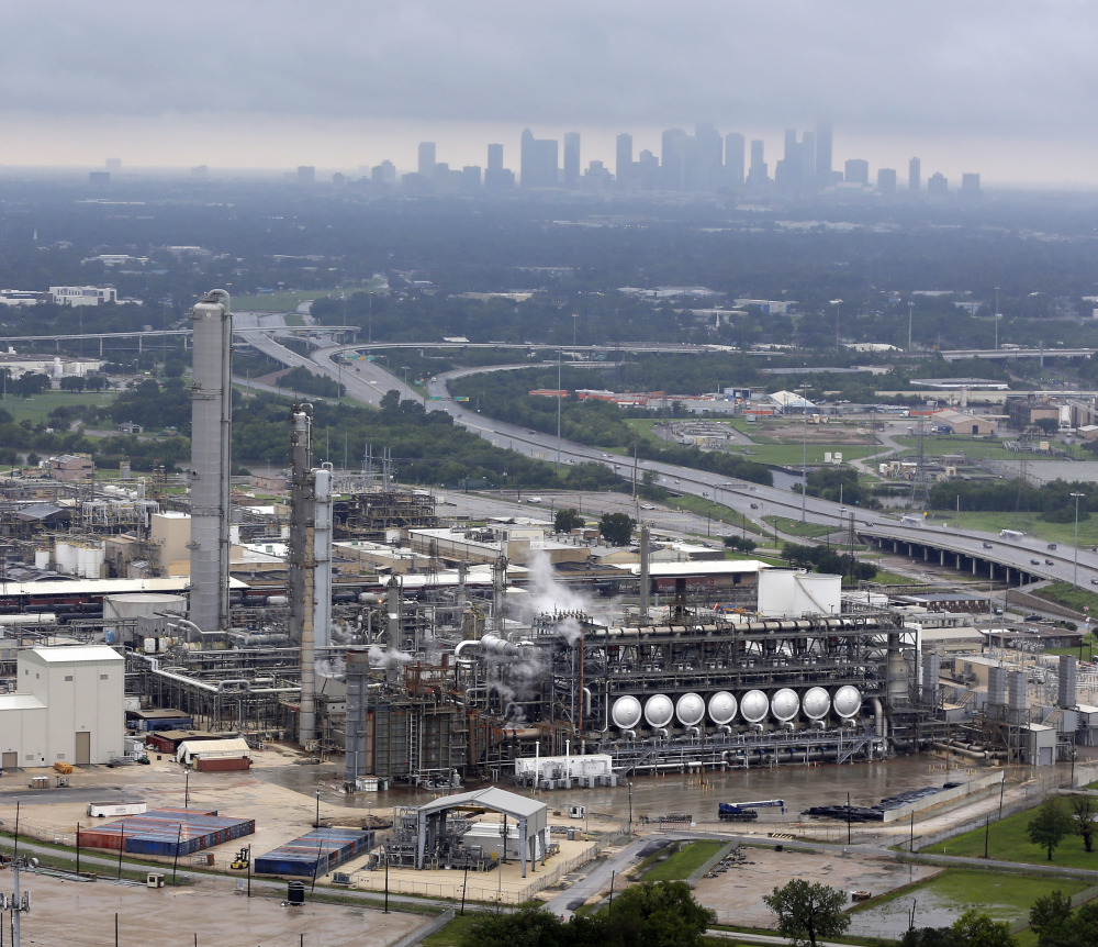 The Flint Hills Resources oil refinery in Corpus Christi, where Harvey made landfall as a Category 4 hurricane, was scheduled to restart – a process that takes days – as early as Wednesday.