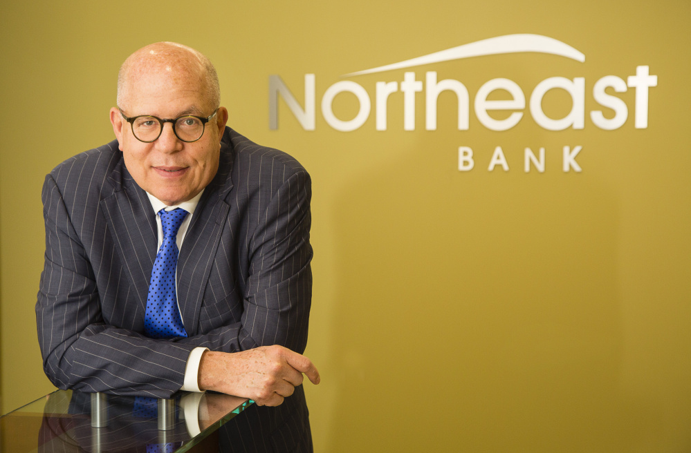 """We believe that this reorganization is in the best interest of our company,"" Northeast Bank President and CEO Richard Wayne, shown in 2017, said in a statement."