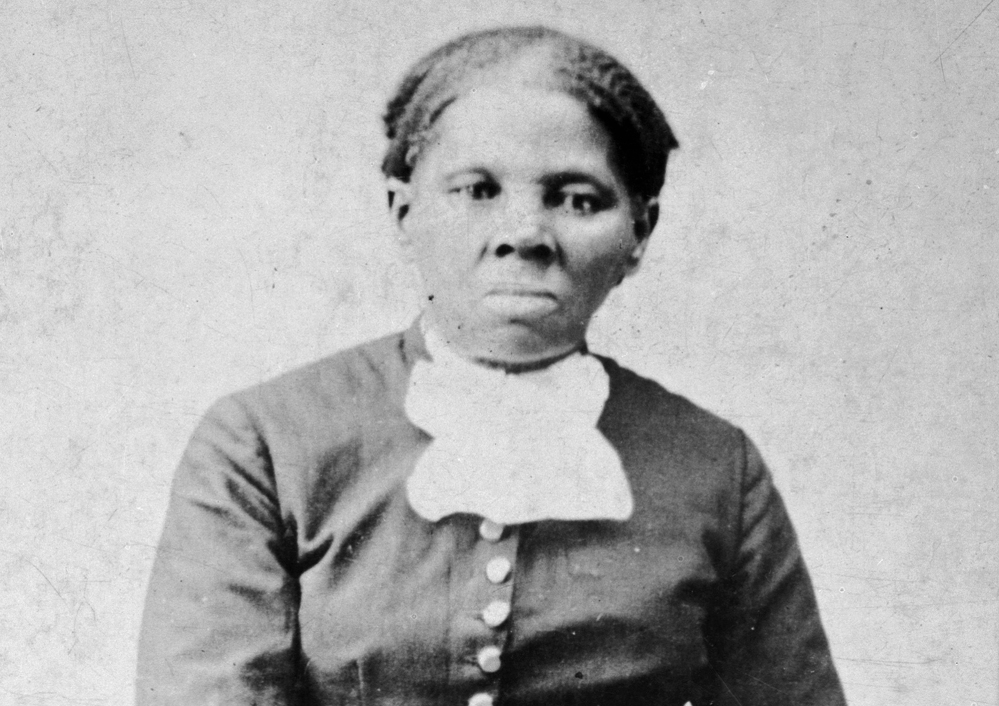 "This image provided by the Library of Congress shows Harriet Tubman between 1860 and 1875. Under an Obama administration plan, she would be the first woman on U.S. paper currency in 100 years. Last year in an interview, President Trump called the effort ""pure political correctness."""