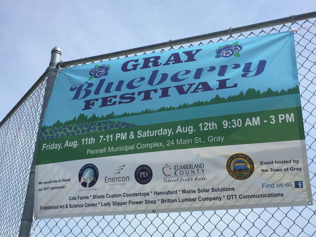 Gray Festival Banking On Blueberries To Bring Town Together Keep
