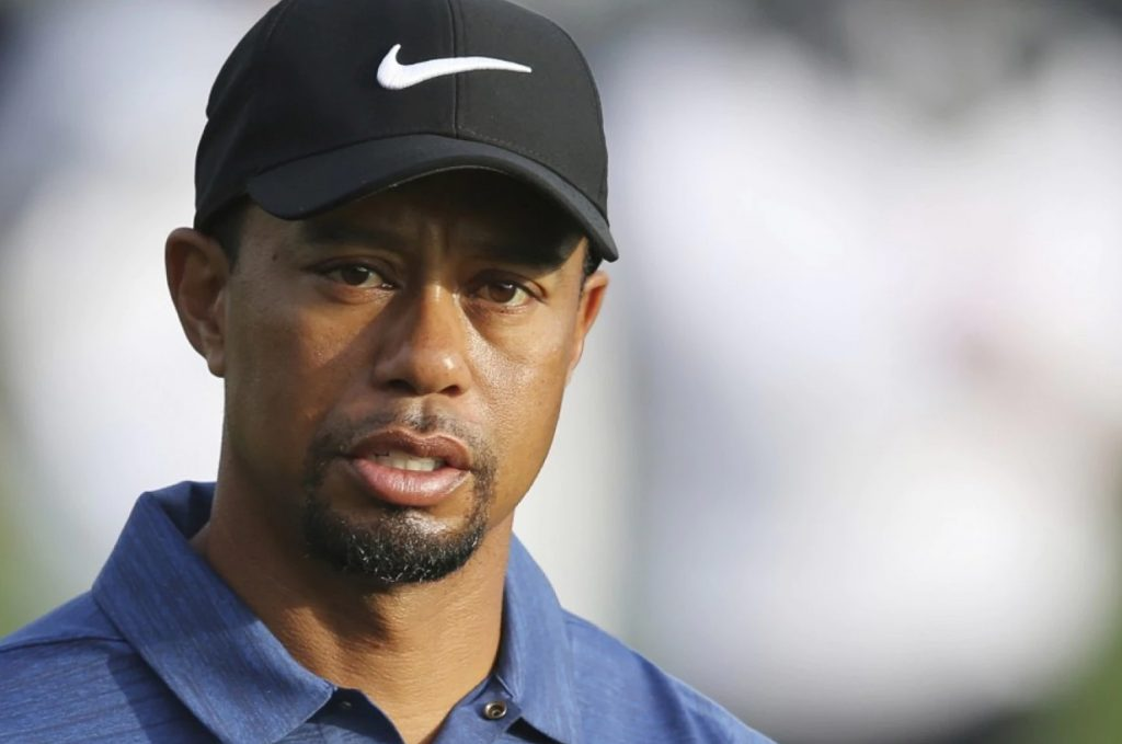 Tiger Woods has not competed in a golf tournament since February.