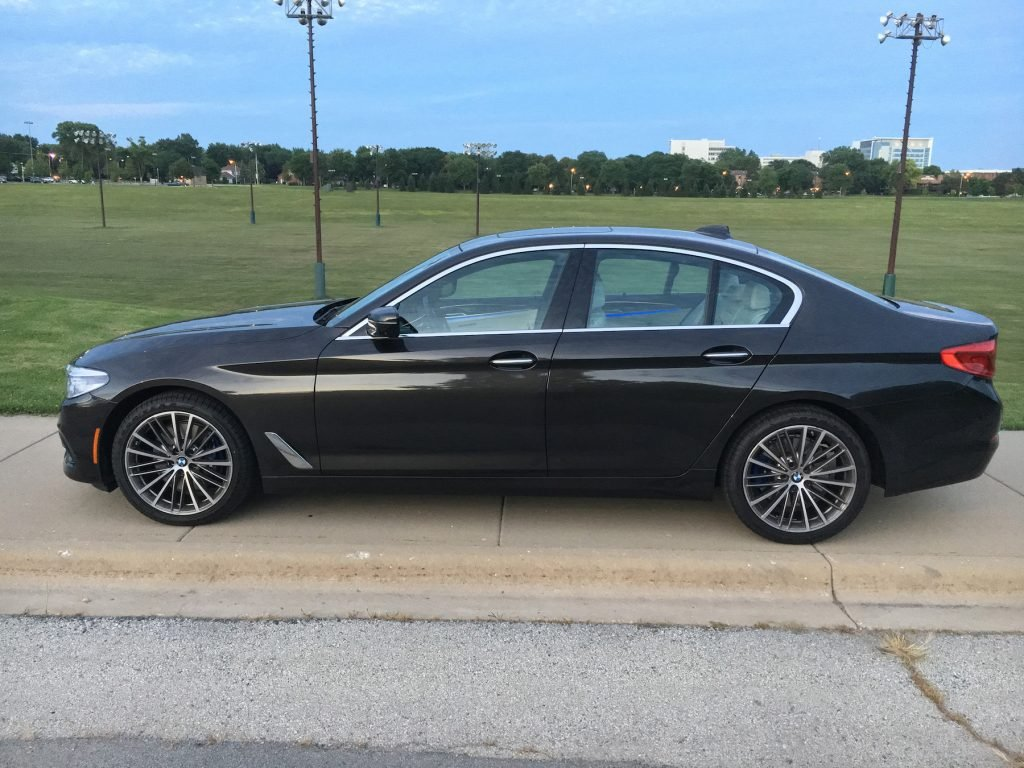 The redesigned 2017 BMW 530i xDrive features a 2-liter turbo inline four-cylinder engine with an eight-speed automatic powering all wheels.