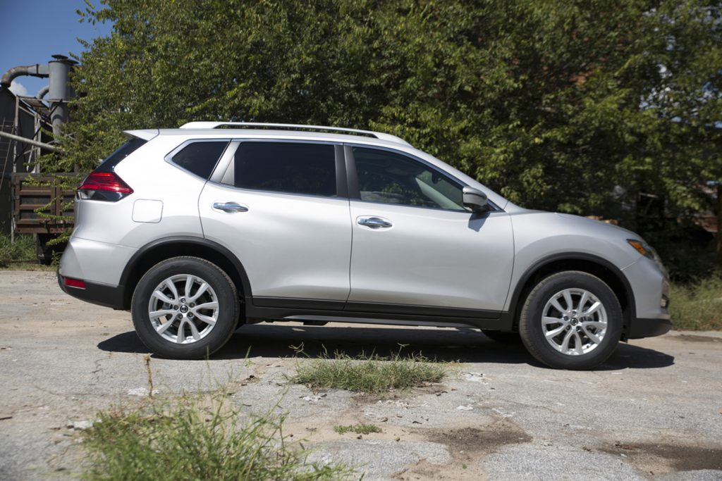 The new 2017 Nissan Rogue.