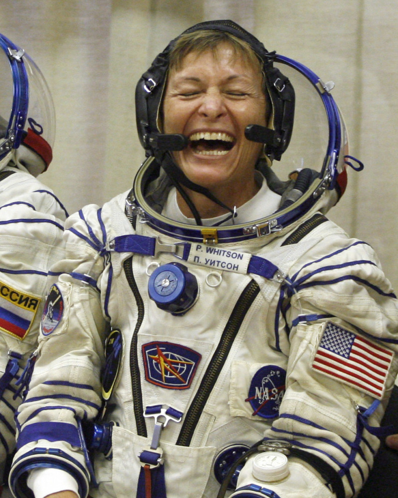 Peggy Whitson is due back on Earth after spending 9½ months in space.