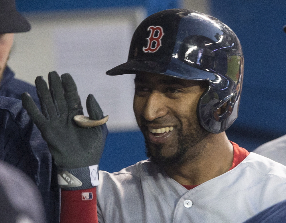 Eduardo Nunez is one reason the Red Sox were able to create a cushion over the Yankees after New York led the AL East by a half-game at the end of July. Now the Boston lead is four games.