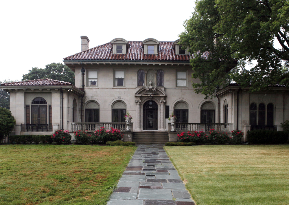 The Detroit mansion once owned by Motown Records founder Berry Gordy Jr will host an auction.