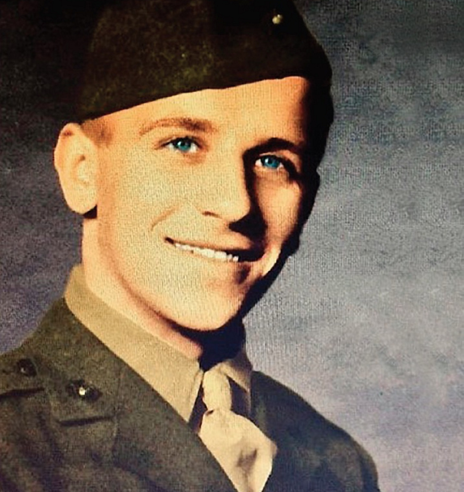 Alberic M. Blanchette of Caribou joined the Marines at age 17 and fought in some of World War II's worst battles.