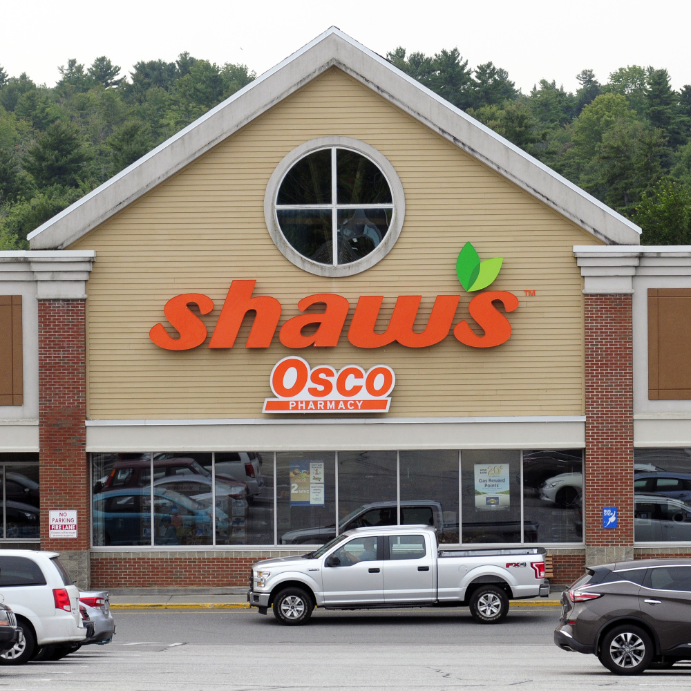 Shaw's Supermarkets says it expects to remain at the Western Avenue plaza if ownership changes hands.