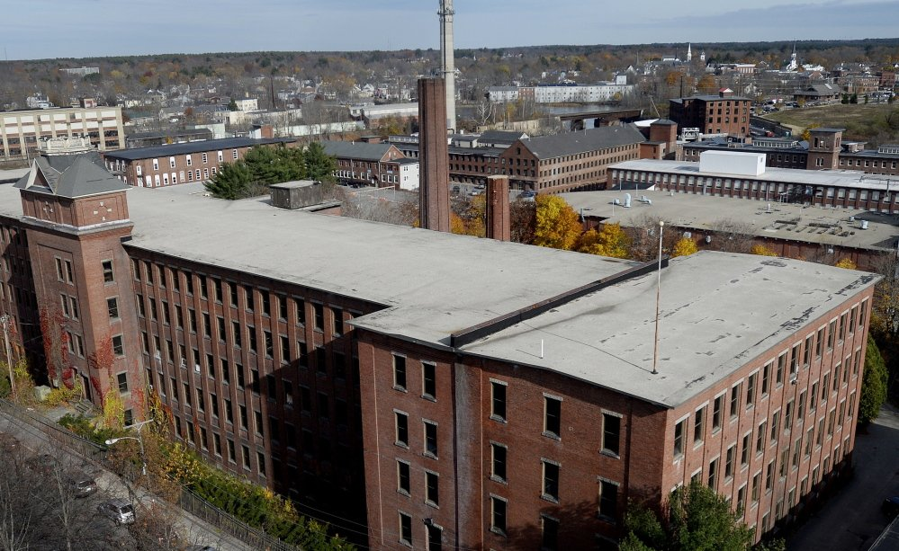 Biddeford officials announced a $50 million private redevelopment plan to turn a the Lincoln mill into apartments and a hotel.