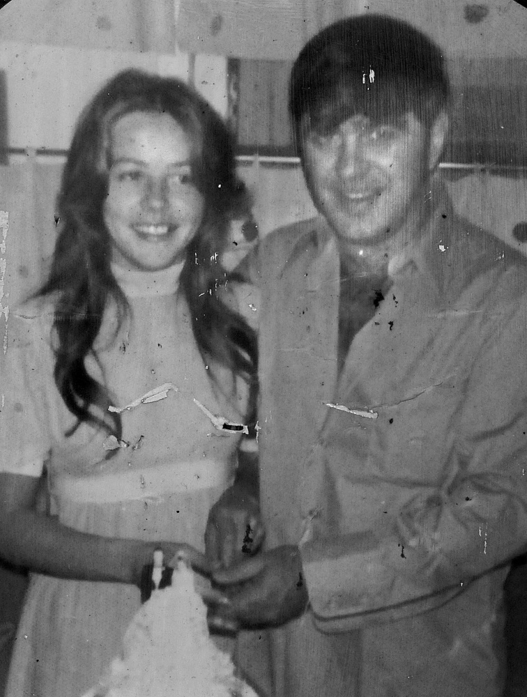 Pauline Rourke, shown here with her husband, Cy Poulin, disappeared in 1976 and is believed to have been murdered by Albert Cochran, who died recently in prison.