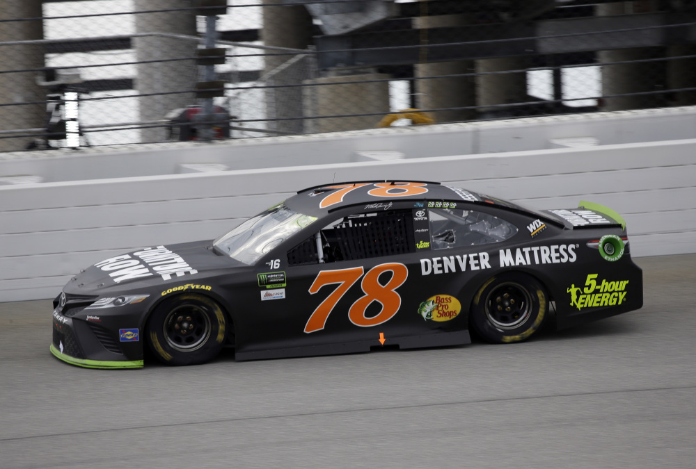Martin Truex Jr.'s No. 78 Toyota needed four tries through pre-race inspection before the car was cleared and later overcame an early pit-road penalty. By the end, however, it was clear the path to glory goes through Truex.