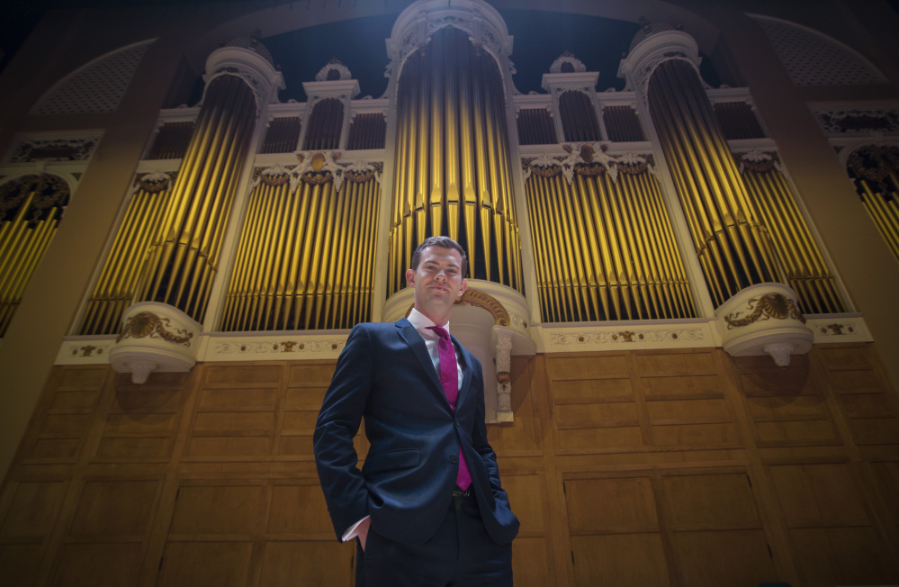 James Kennerley and the Kotzschmar organ
