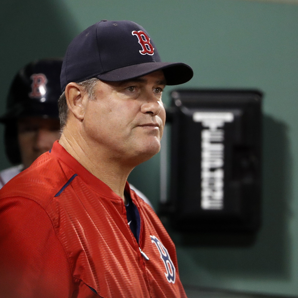 Boston Red Sox Manager John Farrell is focused on fending off the Yankees for now, but it seems more than likely he'll soon be choosing his playoff roster.