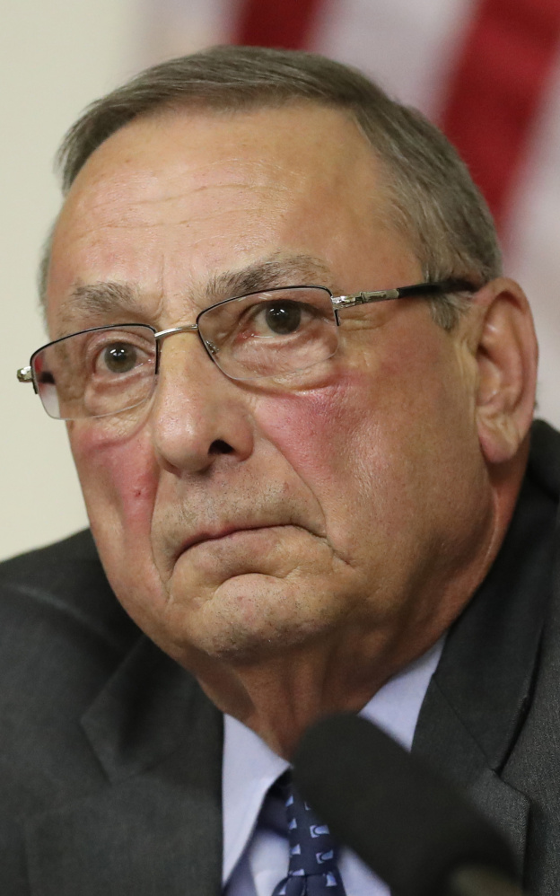 Gov. LePage  wants to suspend tariffs on Canadian softwood lumber.