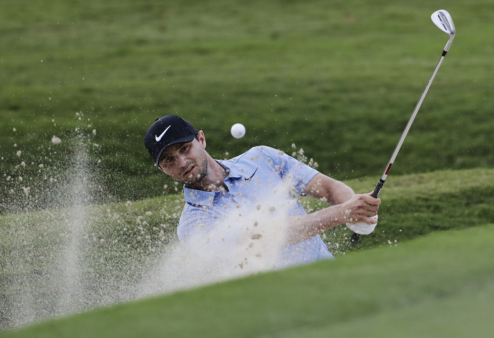 Kyle Stanley had four straight birdies Thursday and shot a 6-under 64 for a two-shot lead in the first round of the Tour Championship golf tournament in Atlanta. Top-ranked Jordan Spieth shot 67.