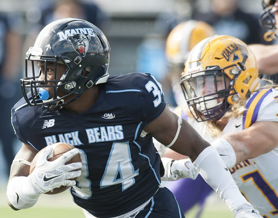 Josh Mack was Maine's leading rusher last season as a freshman, but he's been even better in the first two games of 2017. His average of 179 yards per game is best among all Football Championship Subdivision players.