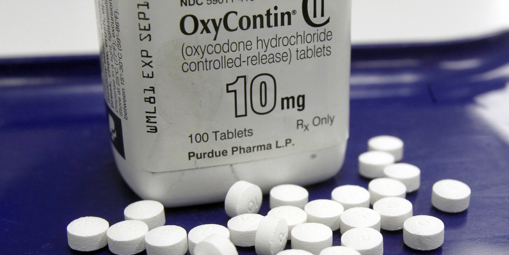 Even employers who test for drugs omit screening for use of OxyContin pills.  (AP Photo/Toby Talbot, File)