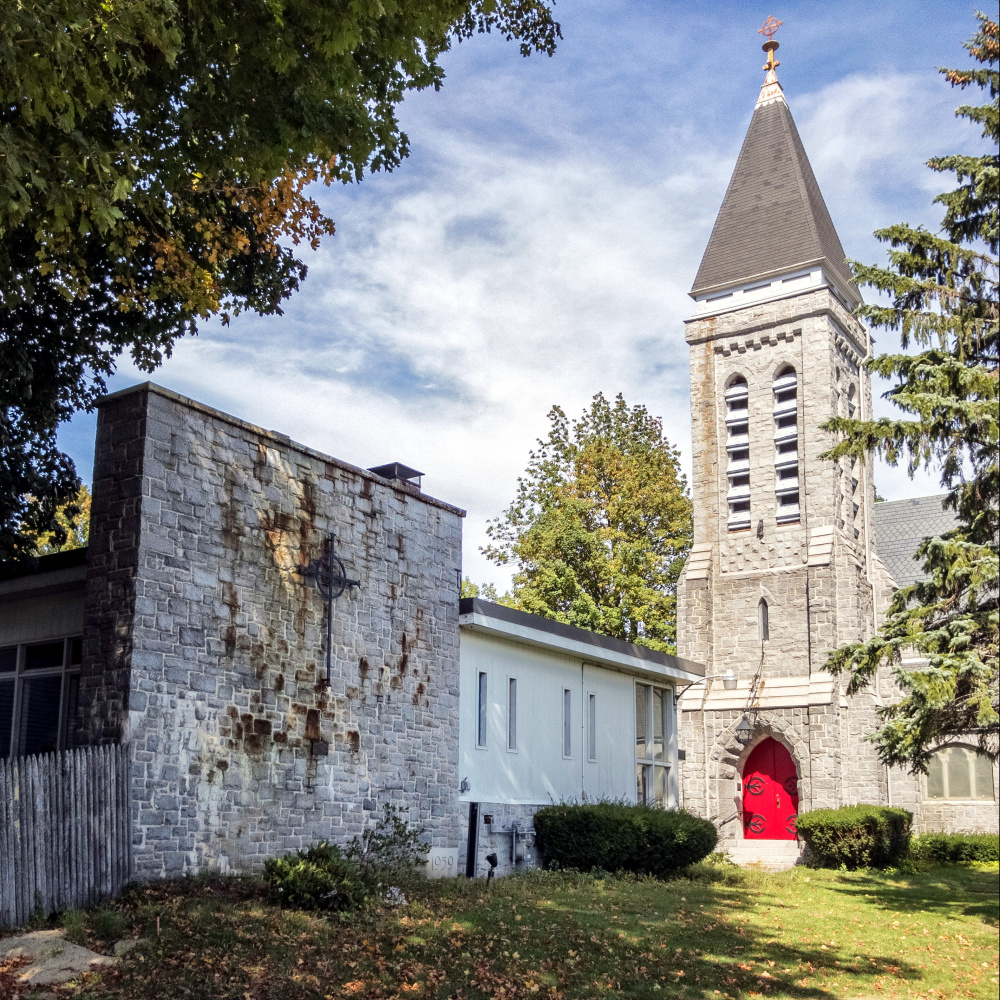 The former St. Mark's parish hall is no longer being used as a church, so social services programs housed there must leave.