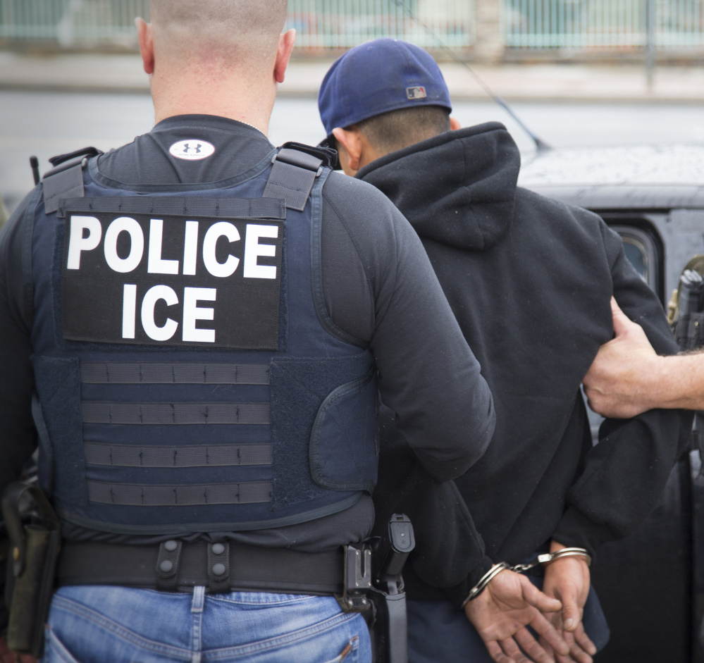 Immigration and Customs Enforcement detainers are intended to give agents time to consider whether a person being held is subject to deportation. But federal judges have ruled