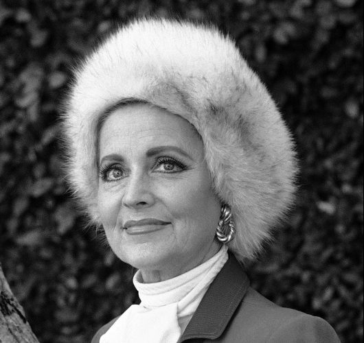 Anne Jeffreys, an actress and opera singer, in Los Angeles in 1985.
