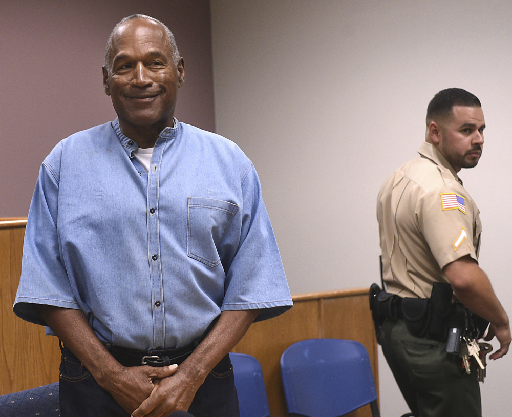 O.J. Simpson could be free on parole within days.
