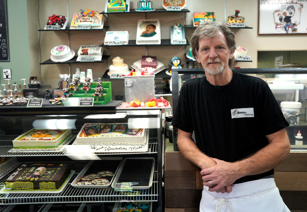 Colorado baker Jack Phillips says liberals are trying to force their morality upon him by charging him with violating civil rights laws, and has the support from the White House.