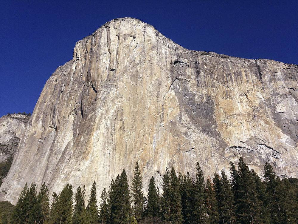 El Capitan in Yosemite National Park, Calif.