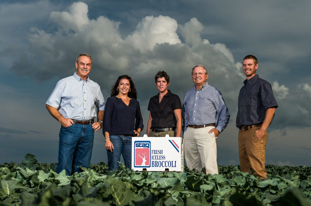 Smith's Farm dates back to 1859, and its history spans six generations. Pictured are Greg Smith; Tara Smith Vighetti; Emily Smith; Lance Smith, and Zachary Smith.