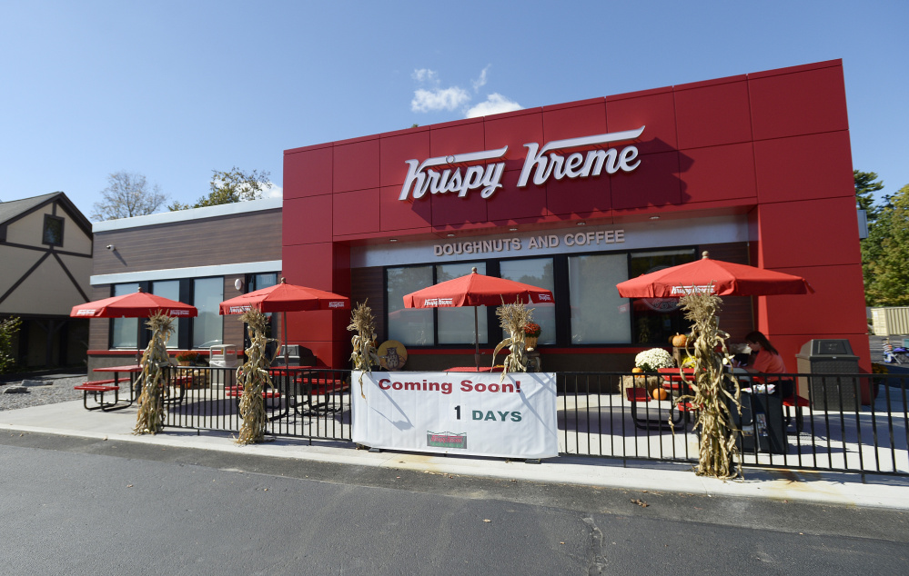 Krispy Kreme Fans Start Circling A Full Day In Advance Of