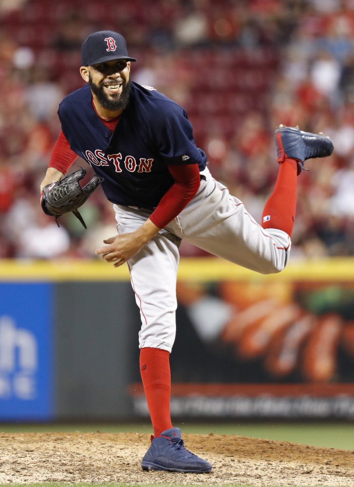 Boston's David Price has made five relief appearances since coming off the disabled list on Sept. 17. In 8  innings, he has not allowed a run and struck out 13.