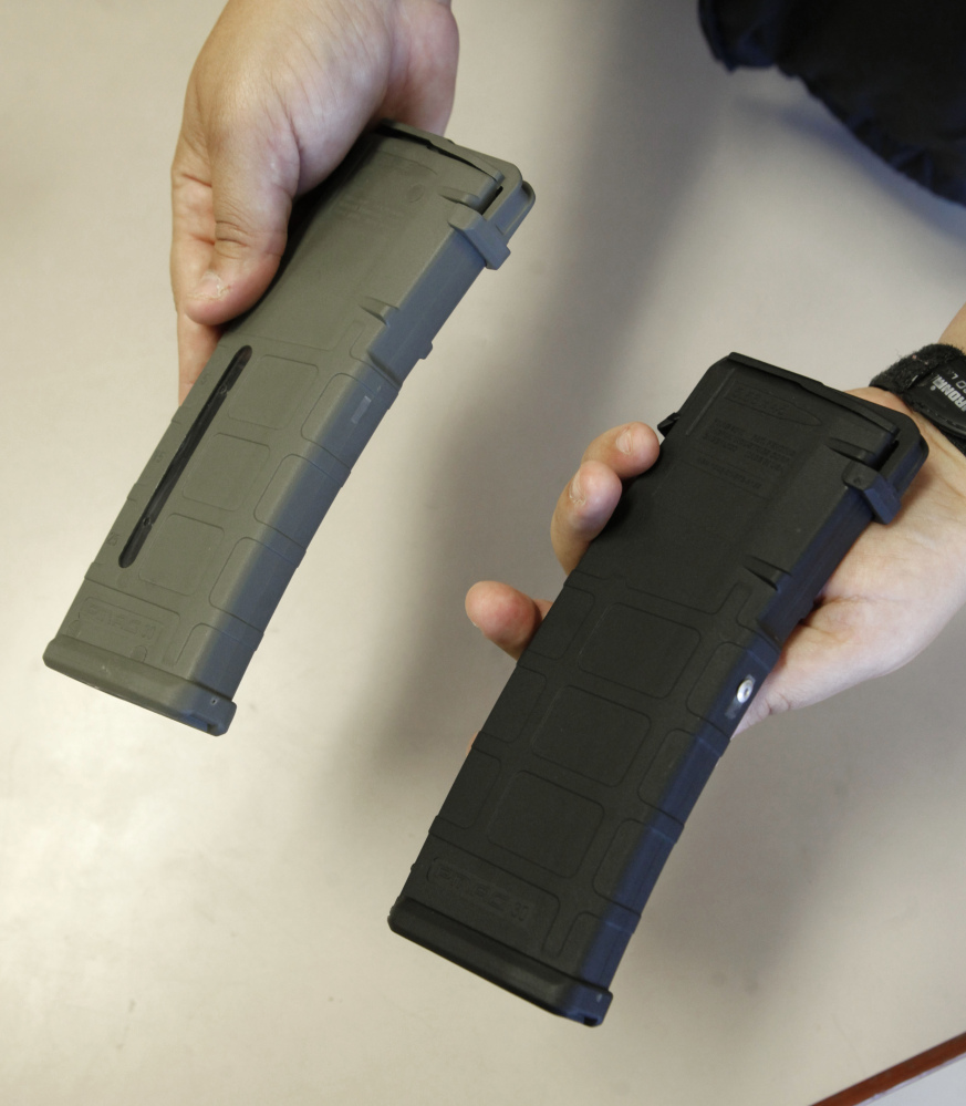 Ammunition magazines enable shooters to fire without having to reload.